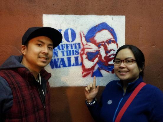 No graffiti on this wall